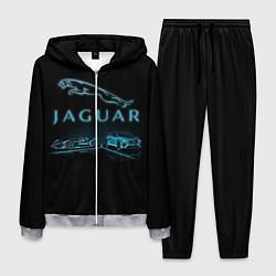 Костюм мужской Jaguar цвета 3D-меланж — фото 1