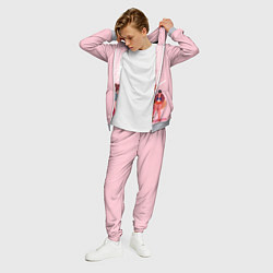 Костюм мужской PINK SAILOR MOON цвета 3D-меланж — фото 2