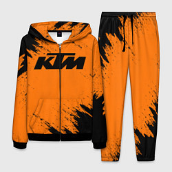 Костюм мужской KTM цвета 3D-черный — фото 1