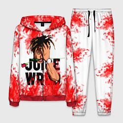 Костюм мужской Juice WRLD цвета 3D-красный — фото 1