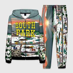 Костюм мужской Южный Парк цвета 3D-черный — фото 1