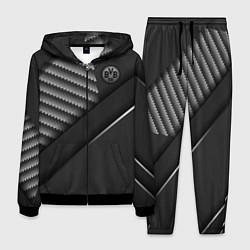 Костюм мужской FC Borussia цвета 3D-черный — фото 1