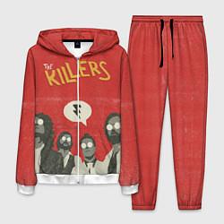 Костюм мужской The Killers цвета 3D-белый — фото 1