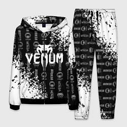 Костюм мужской VENUM цвета 3D-черный — фото 1