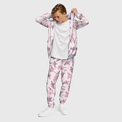 Костюм мужской Розовый фламинго цвета 3D-меланж — фото 2