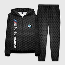 Костюм мужской BMW PERFORMANCE цвета 3D-черный — фото 1