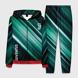 Костюм мужской Juventus цвета 3D-красный — фото 1
