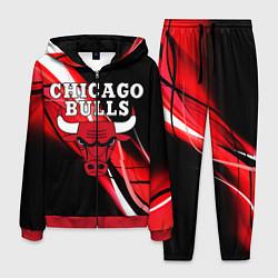 Костюм мужской CHICAGO BULLS цвета 3D-красный — фото 1