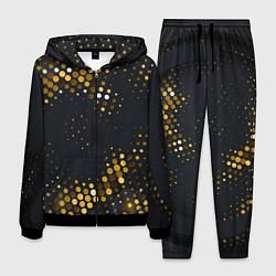 Костюм мужской Black gold цвета 3D-черный — фото 1