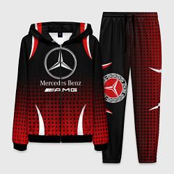 Костюм мужской Mercedes-Benz цвета 3D-черный — фото 1