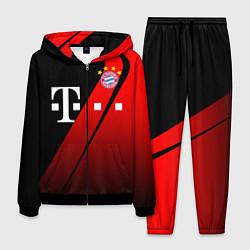 Костюм мужской FC Bayern Munchen Форма цвета 3D-черный — фото 1