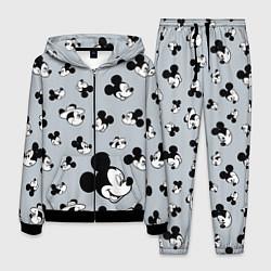 Костюм мужской Микки Маус цвета 3D-черный — фото 1