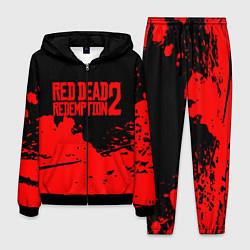 Костюм мужской RED DEAD REDEMPTION 2 цвета 3D-черный — фото 1