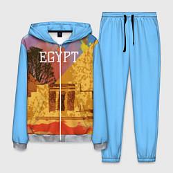 Костюм мужской Египет Пирамида Хеопса цвета 3D-меланж — фото 1