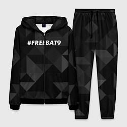 Костюм мужской FREEBAT9 цвета 3D-черный — фото 1