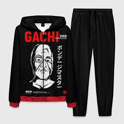 Костюм мужской Gachimuchi Van Darkholm цвета 3D-красный — фото 1