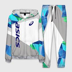 Костюм мужской Asics Sport цвета 3D-меланж — фото 1