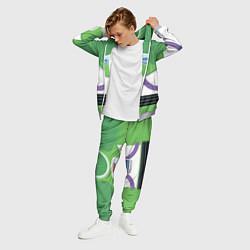 Костюм мужской Базз Лайтер цвета 3D-меланж — фото 2