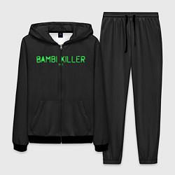 Костюм мужской Bambi killer цвета 3D-черный — фото 1