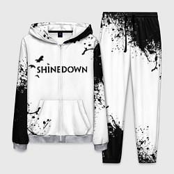 Костюм мужской Shinedown цвета 3D-меланж — фото 1
