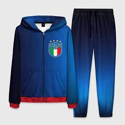 Костюм мужской Сборная Италии цвета 3D-красный — фото 1