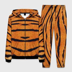Костюм мужской Тигровый Раскрас цвета 3D-черный — фото 1