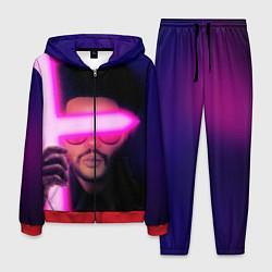 Костюм мужской The Weeknd - Blinding Lights цвета 3D-красный — фото 1