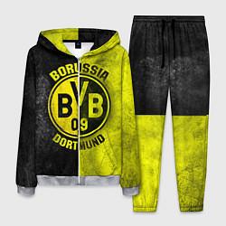Костюм мужской Borussia Dortmund цвета 3D-меланж — фото 1