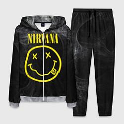 Костюм мужской Nirvana Smoke цвета 3D-меланж — фото 1