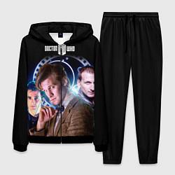 Костюм мужской Одиннадцатый Доктор цвета 3D-черный — фото 1