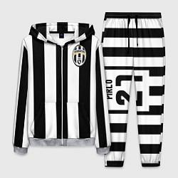 Костюм мужской Juventus: Pirlo цвета 3D-меланж — фото 1