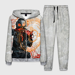 Костюм мужской Counter-Strike: SWAT цвета 3D-меланж — фото 1
