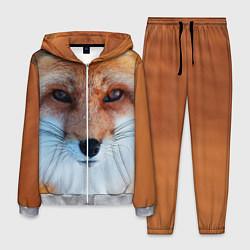 Костюм мужской Взгляд лисы цвета 3D-меланж — фото 1