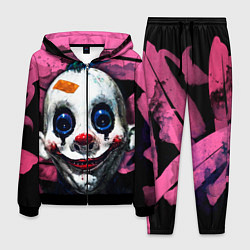 Костюм мужской Клоун цвета 3D-черный — фото 1