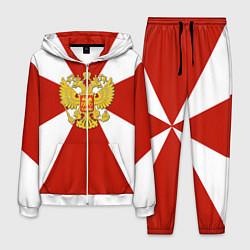 Костюм мужской Флаг ВВ цвета 3D-белый — фото 1