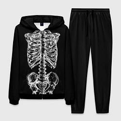 Костюм мужской Скелет цвета 3D-черный — фото 1