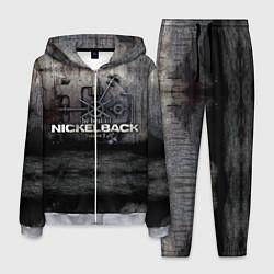 Костюм мужской Nickelback Repository цвета 3D-меланж — фото 1