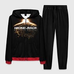 Костюм мужской Nickelback: No fixed address цвета 3D-красный — фото 1