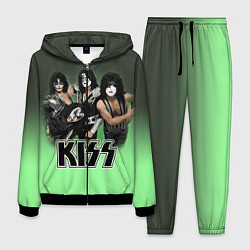 Костюм мужской Kiss цвета 3D-черный — фото 1