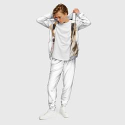 Костюм мужской Пемброк-вельш-корги цвета 3D-меланж — фото 2