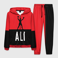 Костюм мужской Ali Boxing цвета 3D-красный — фото 1