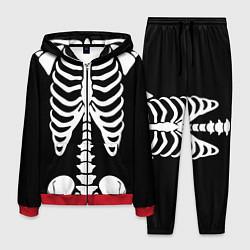 Костюм мужской Скелет цвета 3D-красный — фото 1