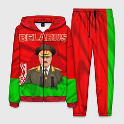 Костюм мужской Belarus: Lukashenko цвета 3D-красный — фото 1
