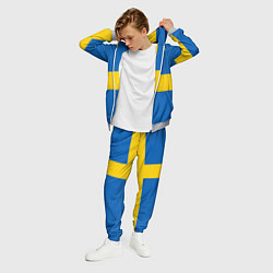 Костюм мужской Швеция цвета 3D-меланж — фото 2