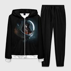 Костюм мужской Aliens Astronaut цвета 3D-белый — фото 1