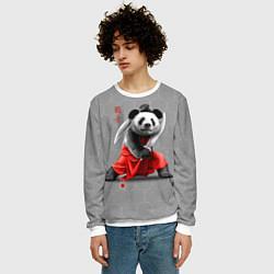 Свитшот мужской Master Panda цвета 3D-белый — фото 2