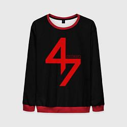 Свитшот мужской Hitman: Agent 47 цвета 3D-красный — фото 1