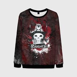 Свитшот мужской The Punisher цвета 3D-черный — фото 1
