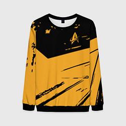 Свитшот мужской Star Trek цвета 3D-черный — фото 1