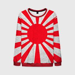 Свитшот мужской Япония цвета 3D-красный — фото 1